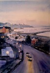Obras de arte:  : Argentina : Tierra_del_Fuego : Ushuaia : Atardece