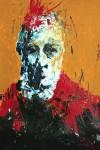 Obras de arte: America : México : Morelos : cuernavaca : hombre con bata roja
