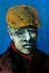 Obras de arte: America : México : Morelos : cuernavaca : hombre con sombrero