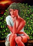 Obras de arte:  : Panamá : Veraguas : Santiago_de_Veraguas : rosaespina