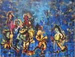 Obras de arte:  : Argentina : Buenos_Aires : Caballito : Etnias.