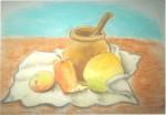 Obras de arte:  : Venezuela : Miranda : Caracas_capital : Bodegón con mango