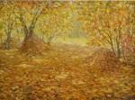 Obras de arte:  : Rusia : Moscow : Moscow_ciudad : Reminiscencias sobre el otoño
