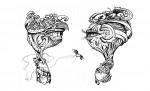 Obras de arte: America : Ecuador : Guayas : GUAYAQUIL : Amor a primera vista