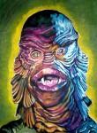 horror movies paintings