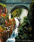 Obras de arte: Europa : España : Canarias_Las_Palmas : Maspalomas : Cascada
