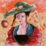 Obras de arte: America : Estados_Unidos : Florida : miami : Pequeno concierto para una dama con sombrero