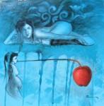 Obras de arte: America : Estados_Unidos : Florida : miami : La manzana