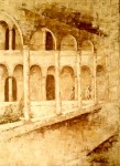 Obras de arte: Europa : España : Murcia : molina : patio de la universidad de murcia
