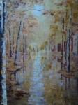 Obras de arte: Europa : España : Murcia : molina : paseo de otoño