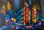 Obras de arte:  : Colombia : Cundinamarca : BOGOTA_D-C- : SIETE ESTRELLAS
