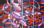 Obras de arte:  : Colombia : Cundinamarca : BOGOTA_D-C- : MAREA ROJA
