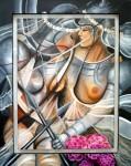 Obras de arte:  : Colombia : Cundinamarca : BOGOTA_D-C- : GUERRERAS DEL ARMAGEDON