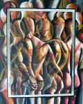 Obras de arte:  : Colombia : Cundinamarca : BOGOTA_D-C- : GRAN MUCHEDUMBRE