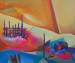 Obras de arte:  : Perú : Lima : Surco : Hasta casi el Olvido_13