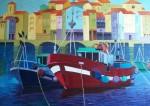 Obras de arte: Europa : España : Castilla_y_León_Burgos : burgos : Barcos pesqueros 2