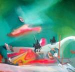 Obras de arte:  : Perú : Lima : Surco : El Quijote visita el Champagnat_03
