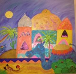 Obras de arte: Asia : Bahrein : Juzur_Hawar : juffair : paraiso de sentimientos