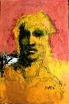 Obras de arte: America : México : Morelos : cuernavaca : figura en amarillo