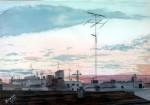 Obras de arte:  : España : Castilla_La_Mancha_Toledo : Casarrubios_del_Monte : amanece en Madrid