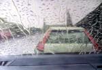 Obras de arte:  : España : Castilla_La_Mancha_Toledo : Casarrubios_del_Monte : llueve en el coche