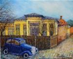 Obras de arte:  : España : Catalunya_Barcelona : Barcelona : El coche azul