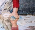 Obras de arte:  : España : Castilla_La_Mancha_Toledo : Casarrubios_del_Monte : jugando con el agua
