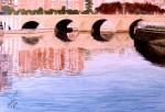 Obras de arte:  : España : Castilla_La_Mancha_Toledo : Casarrubios_del_Monte : puente de segovia