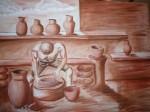 Obras de arte:  : México : Puebla :  : ALFARERO