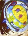 Obras de arte: Europa : España : Catalunya_Tarragona : Reus : HACIA LA LUZ AMARILLA -2 (Cap a la llum groga-2)