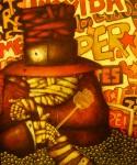Obras de arte: America : Perú : Piura : Piura_ciudad : LA  ERA  DEL  MATAMOSCAS