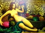 Obras de arte:  : Rep_Dominicana : Santo_Domingo : Distrito_Nac : Musa desnuda