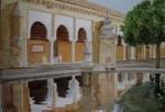 Obras de arte:  : Espa�a : Castilla_La_Mancha_Toledo : Casarrubios_del_Monte : paseando por la mezquita