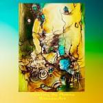 Obras de arte: America : Argentina : Buenos_Aires : ADROGUE : Dialogo con la Luna