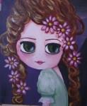Obras de arte: Europa : España : Madrid : Rivas_Vaciamadrid : Flores en el pelo