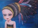 Obras de arte: Europa : España : Madrid : Rivas_Vaciamadrid : Guerrera India