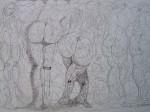 Obras de arte: Europa : España : Extremadura_Badajoz : badajoz_ciudad : Metamorfismo quinteto.