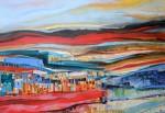 Obras de arte: America : Chile : Region_Metropolitana-Santiago : Santiago_de_Chile : Borde costero