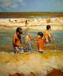 Obras de arte: America : Argentina : Buenos_Aires : Ciudad_de_Buenos_Aires : Pescando en el Oceano
