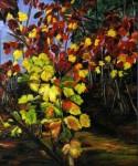 Obras de arte:  : España : Galicia_Pontevedra : Mondariz : otoño de la viña