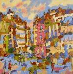 Obras de arte:  : España : Comunidad_Valenciana_Alicante : alcoy : calle