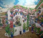 Obras de arte: Europa : España : Andalucía_Granada : almunecar : patio