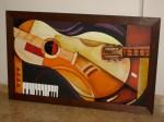 Obras de arte:  : Colombia : Antioquia : Medellin : Guitarra