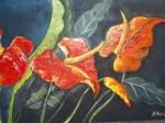 Obras de arte:  : Colombia : Antioquia : Medellin : ANTURIOS  DE COLORES