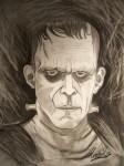 Obras de arte: Europa : España : Galicia_Pontevedra : vigo : º~Dibujarte~º Frankenstein.