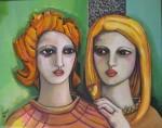Obras de arte: Europa : España : Madrid : Valdemorillo : Hermanas