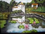 Obras de arte:  : Colombia : Antioquia : Medellin : Ilusiones en el lago