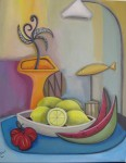 Obras de arte: Europa : España : Madrid : Valdemorillo : Limones