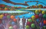 Obras de arte: America : Costa_Rica : San_Jose :  : cascada