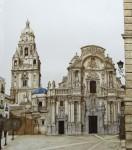 Obras de arte: Europa : España : Murcia : cartagena : Vista de la Catedral desde la esquina